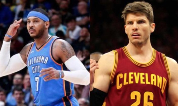 Carmelo Anthony will not stand for being called worse than Kyle Korver bars.tl/sOnywzUebN