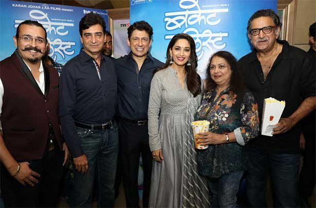 All the best @MadhuriDixit for #BucketList. It's a beautiful film & as always you are flawless. My best wishes to the entire team.   #BucketListTomorrow