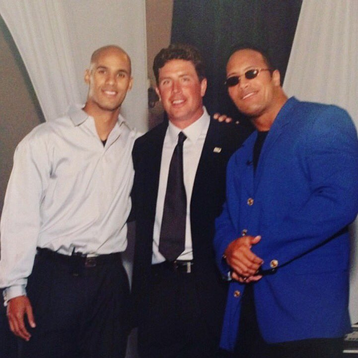 #tbt with @TheRock and @JasonTaylor
