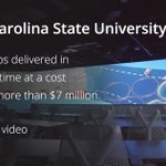 North Carolina State University is responsible for delivery 500K non-credit course registrations per year. They developed an #app that allows N.C. residents to register for courses & simplifies reporting, at a cost savings of more than $7mm & a time sa ... https://t.co/6L8yKWNwV0