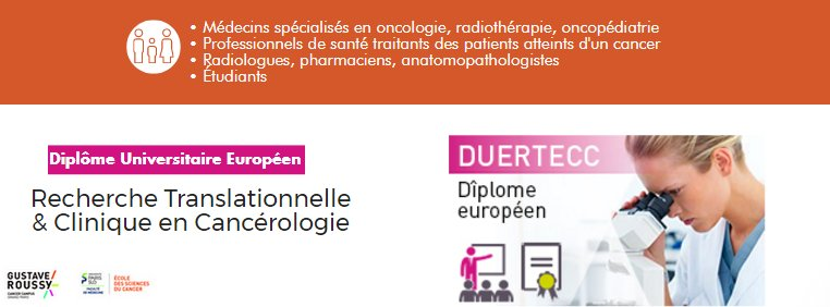 diplome universitaire oncologie