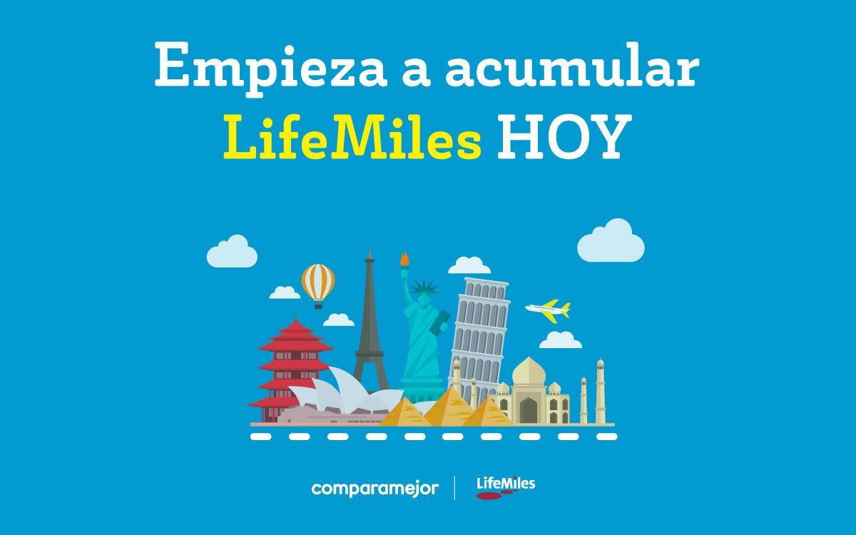 ComparaMejor es la primera plataforma online que te permite acumular #LifeMiles ✈️  comprando el SOAT o el Seguro Todo Riesgo de tu vehículo 🚘 Ingresa ahora mismo, empieza a acumular  >>https://t.co/gI17luxsWD https://t.co/eh3hBbbiWO