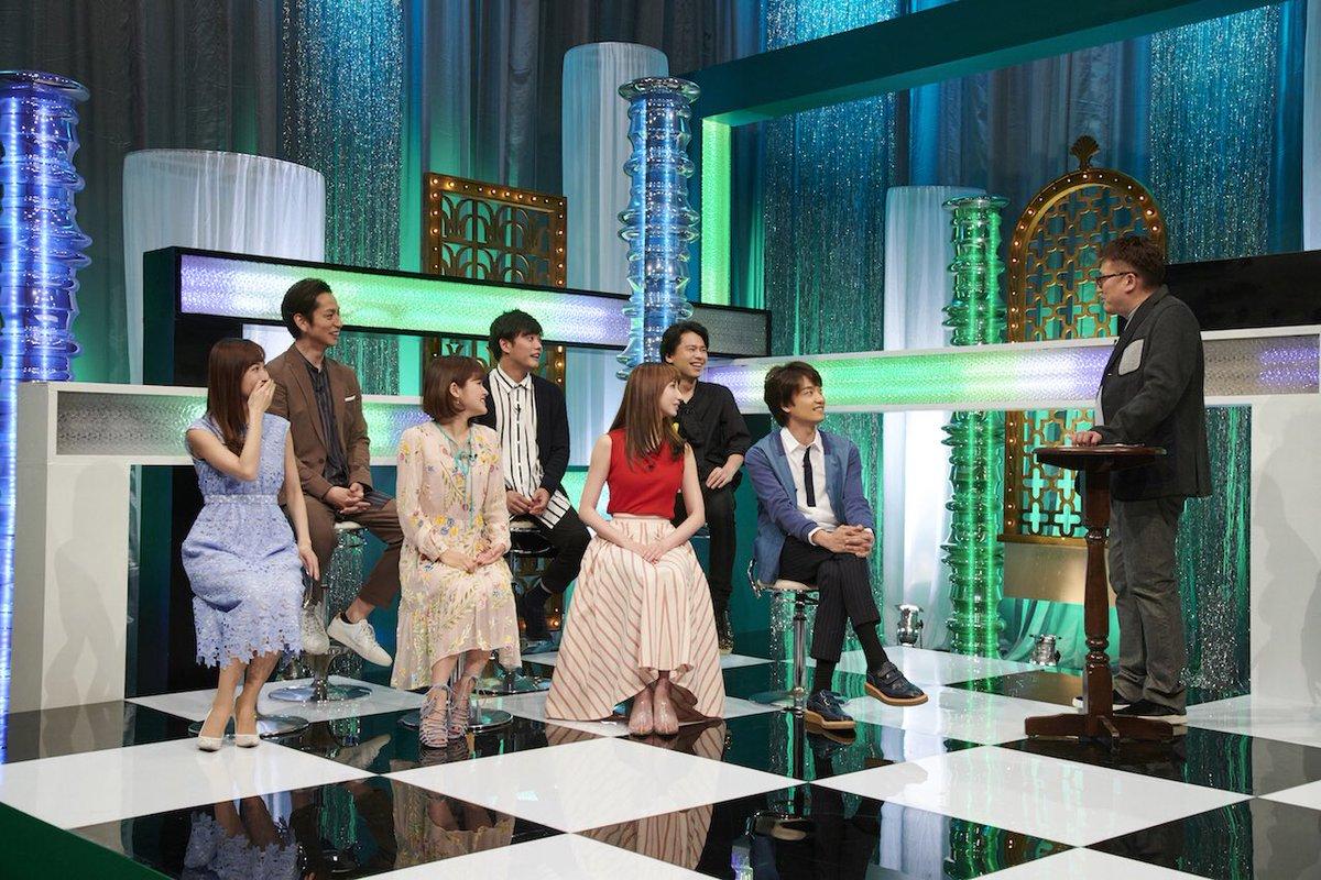明日5月26日深夜0:00から放送のWOWOW 「グリーン&ブラックス」に 愛原実花 (コント&トー