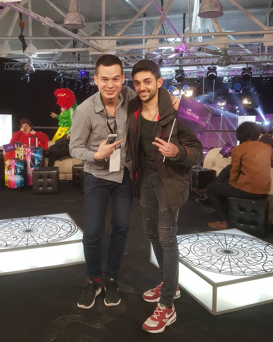 Once in Yerevan !! #misstheysdays At the time of Depi Evratesil Grand Final !! #eurovision #Armenia #depievratesil #gevorgharutyunyan #williamleeadams pic.twitter.com/Z6iRnaM8Ue