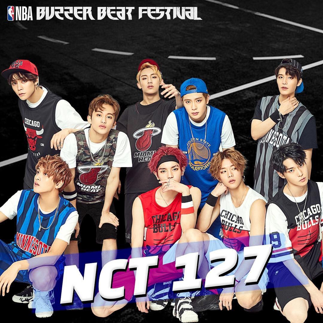 [IG] 180524  nbastyle_kor Instagram Update With #NCT127   NBA BUZZER BEAT FESTIVAL 2018   @NCT @NCTsmtown_127<br>http://pic.twitter.com/ab4tgWkETm