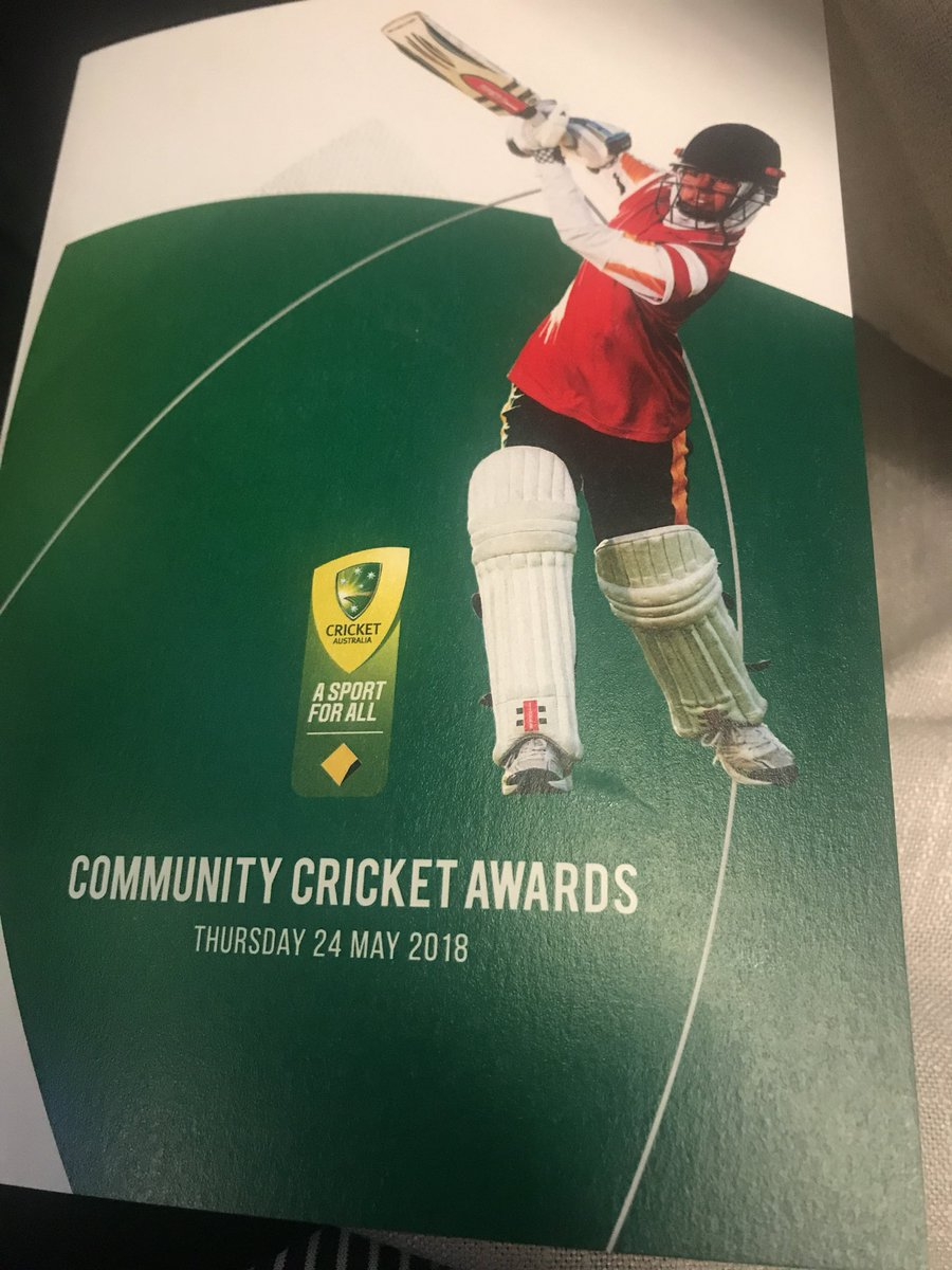 Congrats my home team @GCDCC premier cricket club nominee for inclusion for more girls and women in cricket at tonight's @CricketAus Community Awards #asportforall @abcgoldcoast #icebath @MattWebberWrite<br>http://pic.twitter.com/eQShy2AXd8