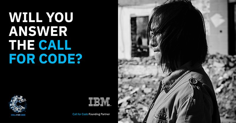 Today @UNHumanRights, @RedCross, @linuxfoundation and @IBM are issuing a global #CallforCode. If you're a developer who wants to see real change in the world, start building and help save lives: https://t.co/Q1oeLs1v3k