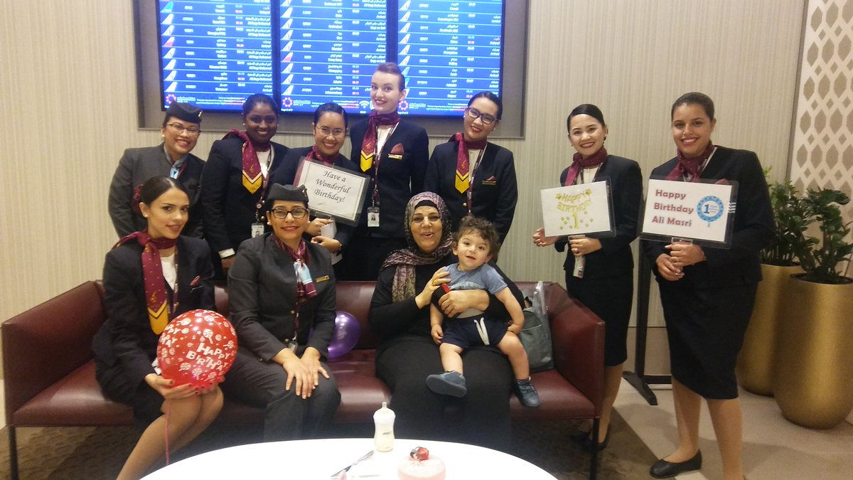 Qatar airways on twitter our al maha services staff love to our al maha services staff love to surprise our youngest travellers on their birthday make your journey even more comfortable with our al maha services m4hsunfo