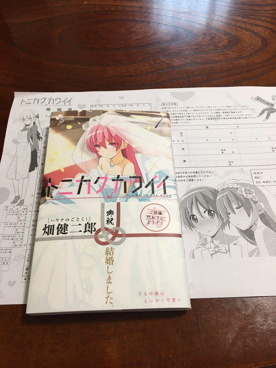 嫁 畑 健二郎 documents.openideo.com: トニカクカワイイ
