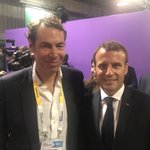 Image for the Tweet beginning: Merci @EmmanuelMacron d'avoir pris le