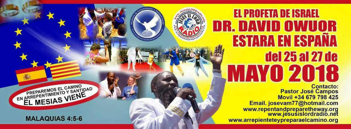 WHAT A BLESSED OPPORTUNITY THAT HAS BEFALLEN SPAIN  NOW YOU CAN TAKE THIS TIME TO RECEIVE EVERY INSTRUCTIONS HE GIVETH AND ENTER #ProphetDrOwuorInSpain<br>http://pic.twitter.com/cXVObz5iya