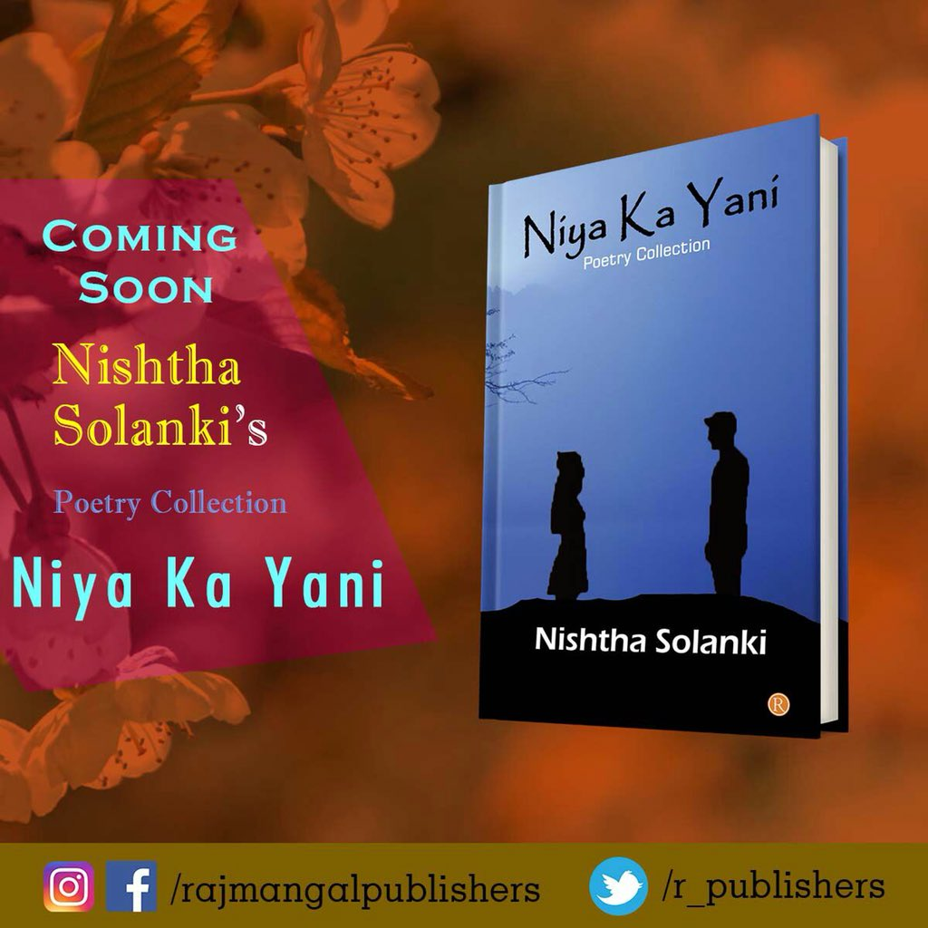 Hey Guys soon will #published #paperback of #niyakayani #poetrycollection hope you all like this... #fallowforfallow #author #lovepoetry #lovestory #rajmangalpublishers #goodreadspic.twitter.com/Xm1kR5dwwb