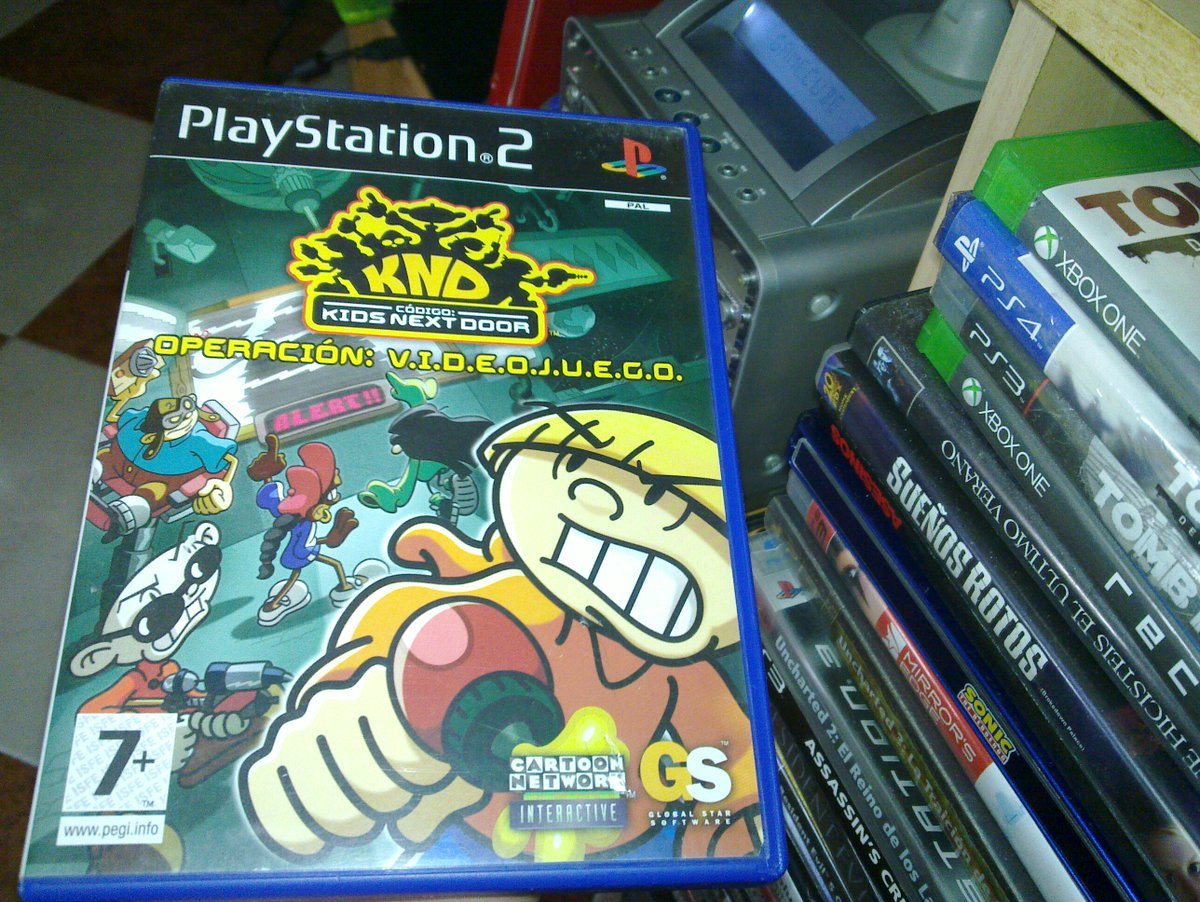 Today we remember the #retro platformer video game based on the American animated television series and developed by High Voltage Software.  Codename: Kids Next Door – Operation: V.I.D.E.O.G.A.M.E. (2005) <br>http://pic.twitter.com/GJ2QigADQI