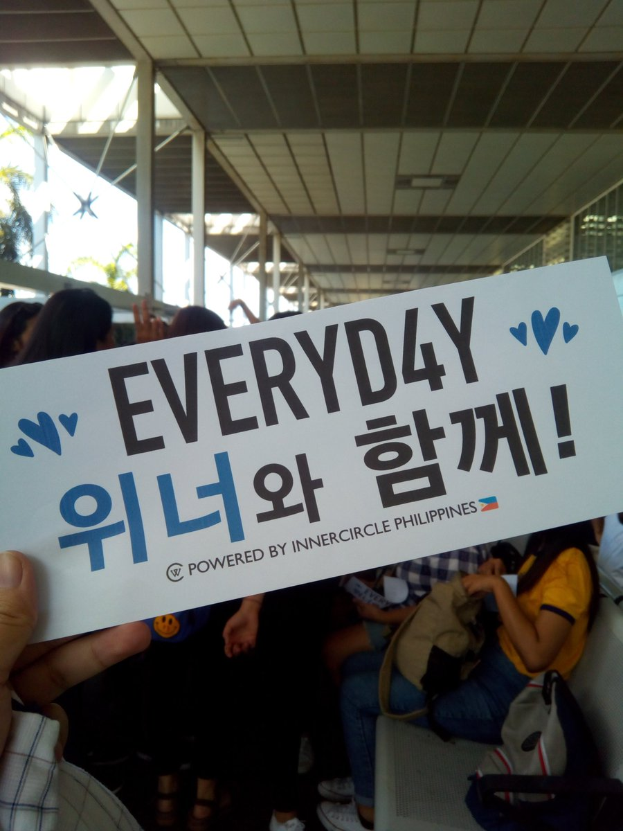 Before this day ends, I&#39;d like to thank all the unnies who organized the send-off. We worked on a very tight deadline, around 3 days only but we still made it happen. You the best @camseungyoon @20for_ and to all Inseos who worked hard for this  #BalikKayoWINNER <br>http://pic.twitter.com/B5yENnaE8j