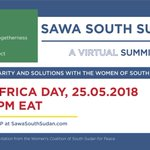 Image for the Tweet beginning: South Sudanese women and girls