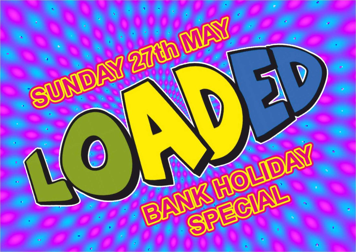 Loaded (Bank Holiday Sunday) Sun 27th May at 10:30pm @42sNightclub in #Manchester  https:// in-the-uk.com/north-west/  &nbsp;  <br>http://pic.twitter.com/fQenoAeulf