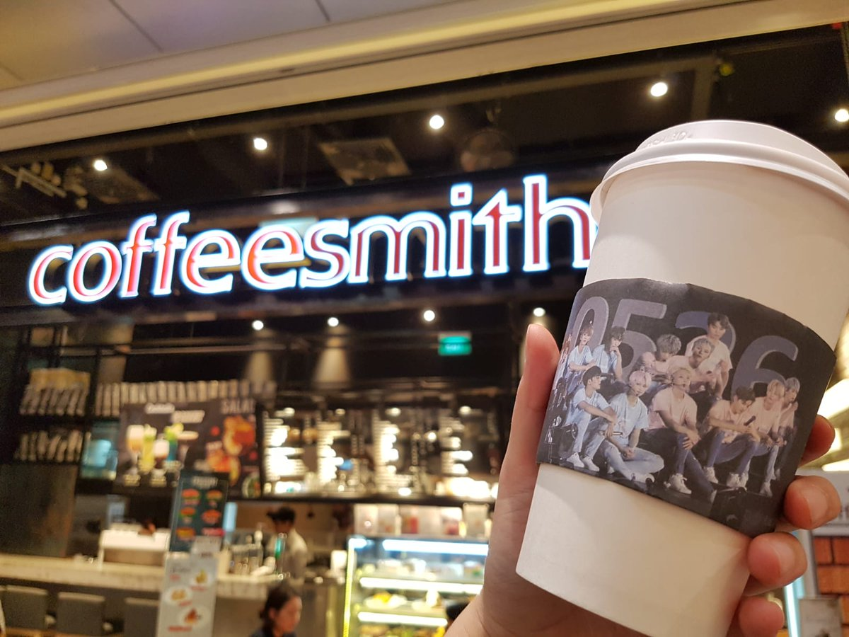 Seventeen Singapore Shining17sg On Twitter Are You Ready For Alatteofloveforsvtsg With Shining17sg Because We Are Here S A Peek At What You Will Be Getting When You Get A Drink At Coffeesmith