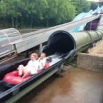 The water slide!