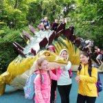 Dinosaur walkabout