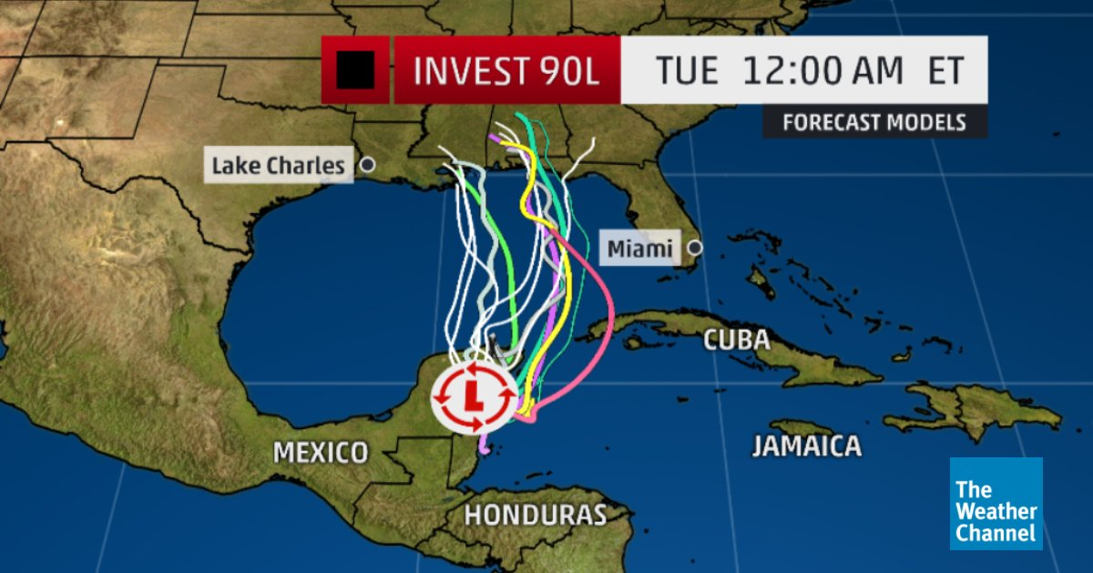Residents from FL to the Gulf Coast should monitor closely as tropical/sub tropical development is possible. We&#39;ll be covering the latest on The Weather Channel throughout the storm. <br>http://pic.twitter.com/HshC42MvqE