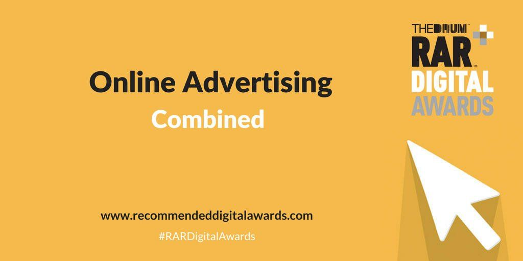We are so excited to have been nominated in the &quot;Online Advertising Combined&quot; category for #RARAwards with @AgencyRegister!<br>http://pic.twitter.com/qYkmlrTWeh
