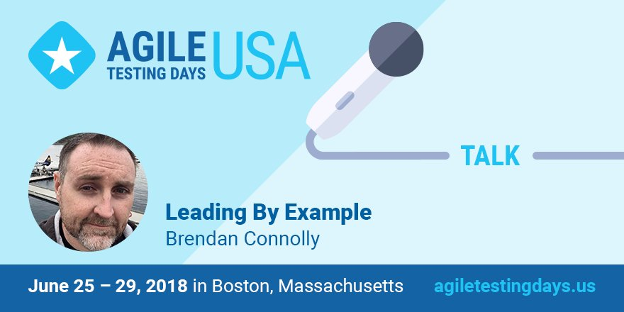 Join @theBConnolly  at #AgileTDUSA and learn how a tester can use other roles and processes to gain insight and influence.  https:// agiletestingdays.us/session/leadin g-by-example/ &nbsp; …  #leadingbyexample<br>http://pic.twitter.com/i8veWGYGfF