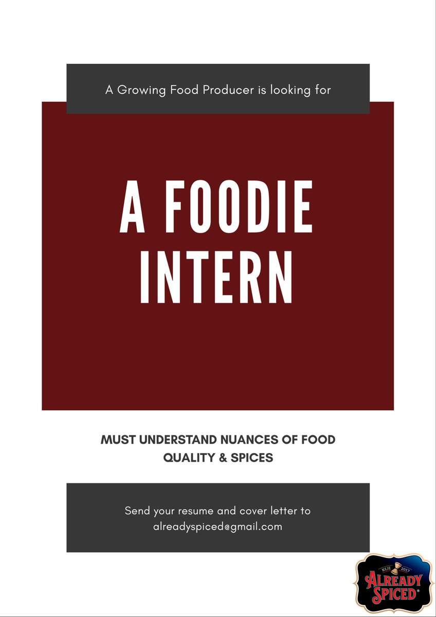 Are you a foodie?   Are you a college student on holiday break?   Do you live in these areas : Adenta, Madina, AshaleBotwe, Adjirigano, East Legon?   Do you want to develop your skills &amp; knowledge  in running a food business?   Email us. Please RT and answer a student&#39;s prayer <br>http://pic.twitter.com/AUAcKYx5Ii