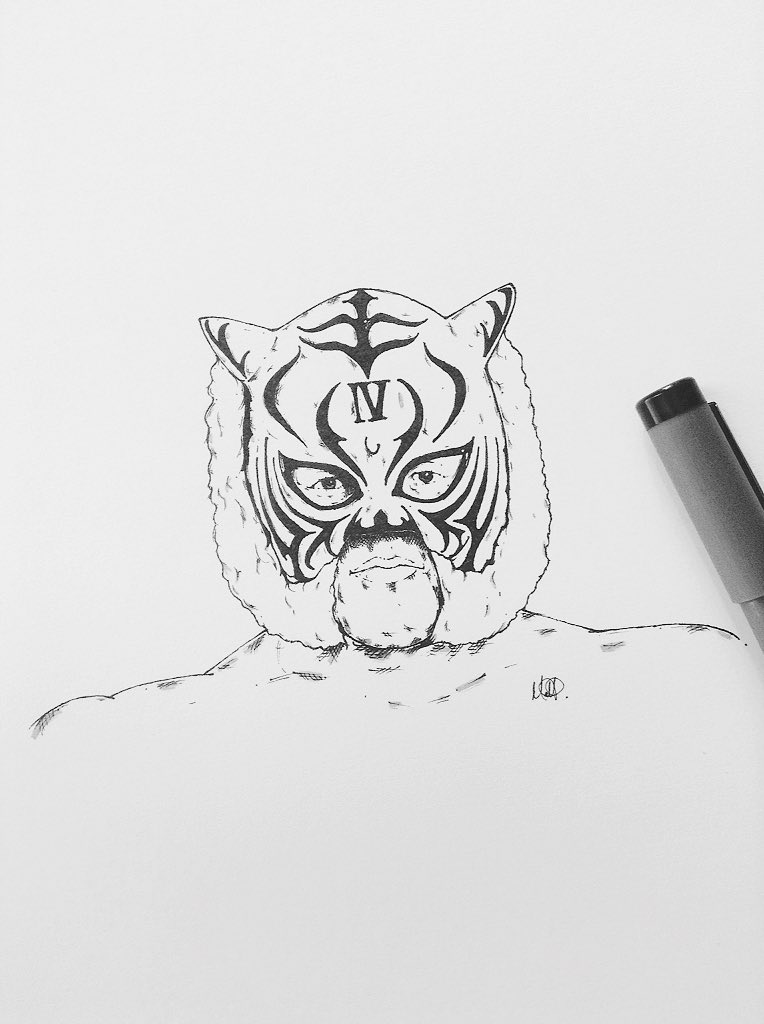Six time IWGP Junior Heavyweight Champion,the only man to ever win back to back Best of the super Juniors tournaments,emerging victorious in both 2004 and 2005 (11th and 12th editions respectively)don&#39;t count him out for this year either...Tiger Mask IV #njpw #njbosj<br>http://pic.twitter.com/U42y5DqKJy