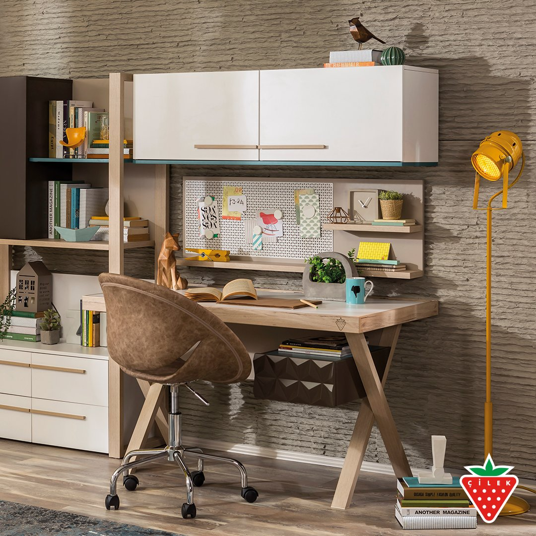 We thought everything for you to work comfortably, Lofter Work Table. #cilekroom #teenroom #worktable   https://t.co/ZBe3uabRXy https://t.co/tDaqOLt43B
