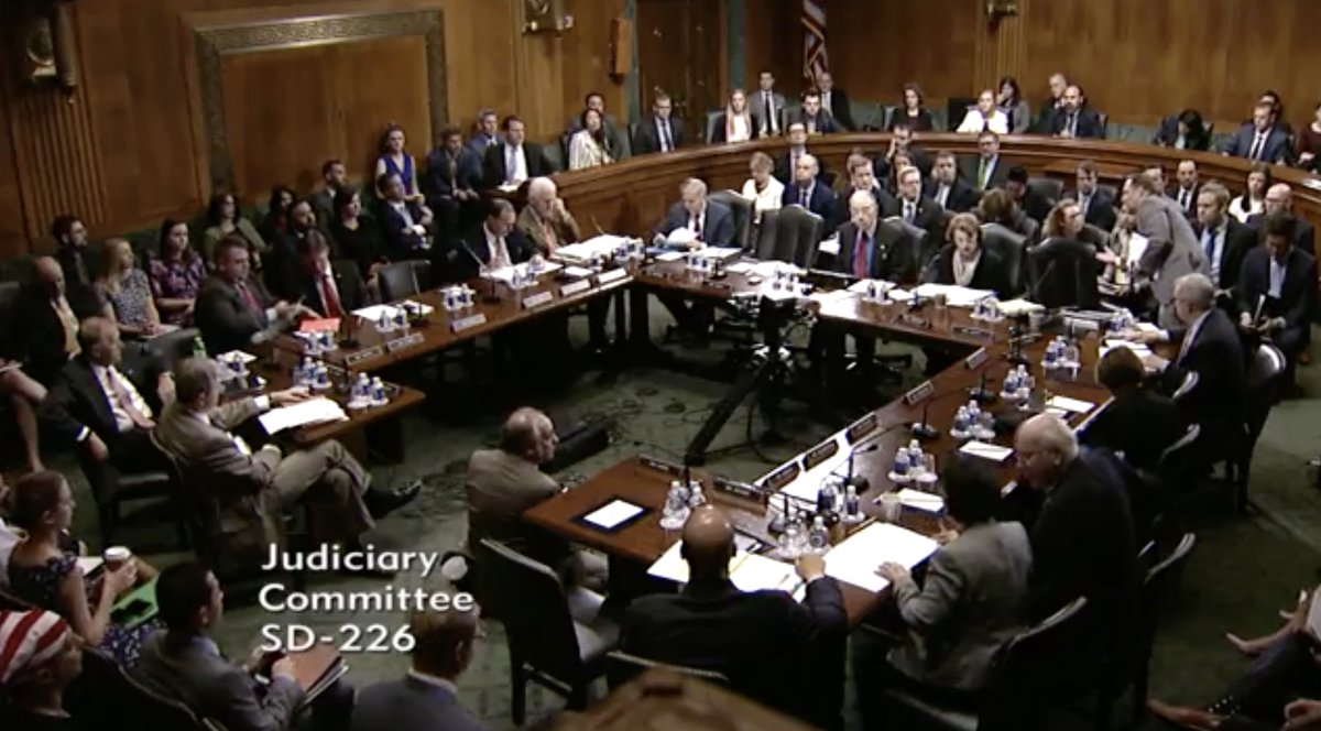 a description of the senate judiciary committee Benjamin wallace-wells on how democrats and republicans will likely respond to the final senate  senate judiciary committee,  description of why she.