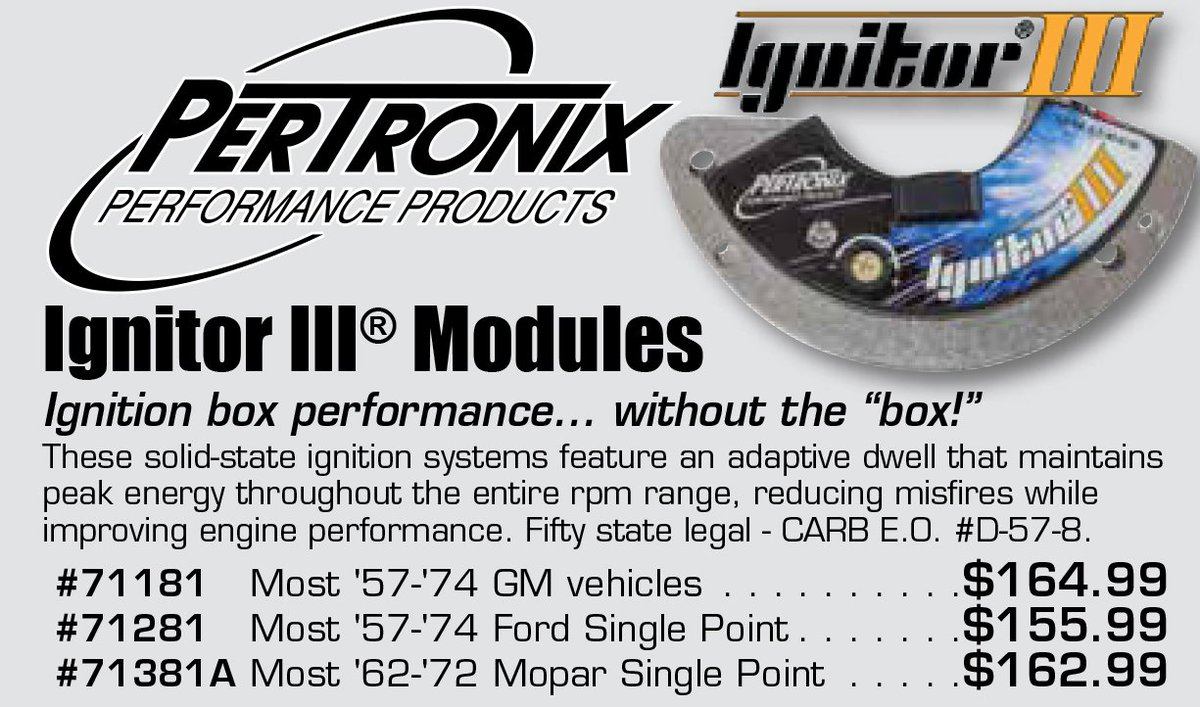 Pertronix Hashtag On Twitter Wiring Resistor Wire Ford Falcon Ignitormodules Pertronixignitormodules Ignitionsystems Aadiscountauto Aaperformancepic Qm9whdl3xv