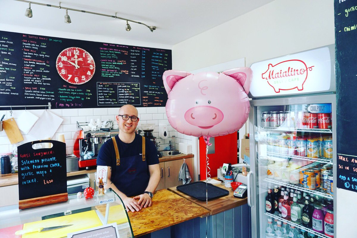 Happy 5th birthday @MaialinoDeli 🐷 🎊🎂  #westend #takeacloserlook #hiddengems #edinburgh #edinburghlife #edinburghfood #edinburghscran #edinburghfoodbloggers