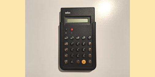 Braun calculator et55.