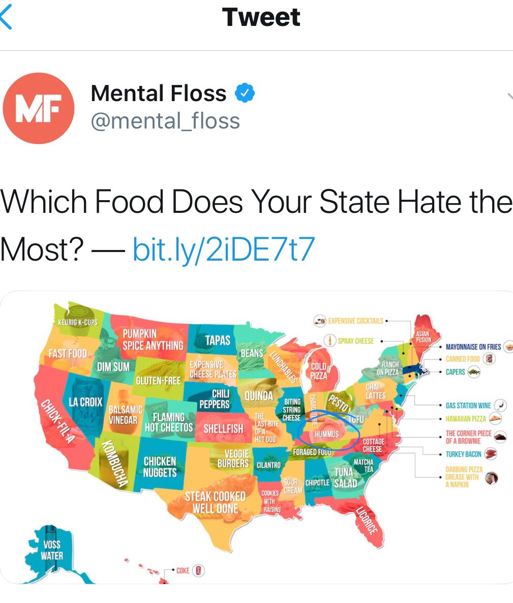 The Trillbillies On Twitter Can Confirm That The Ppl At Mental Floss Are Nailing Public Opinion In Ky