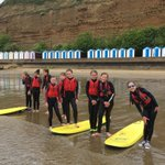 Prepare for the onslaught of lots of photos from Group 2 at Seasports - tricky to tweet from the water!