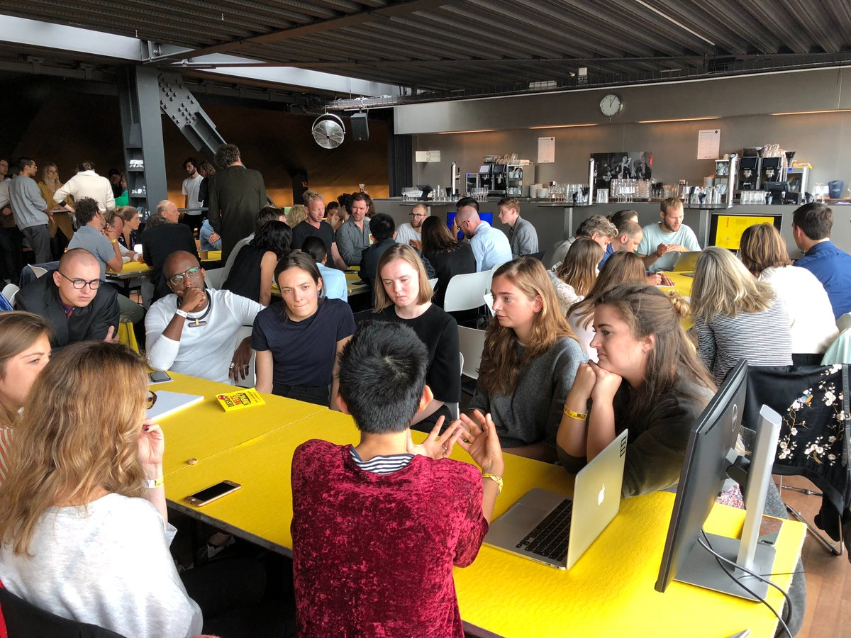 We hosted a very exciting session at @WhatDesignCanDo today about Constructive Innovation with @DAEnews students #WDCD2018 #digitaldesign <br>http://pic.twitter.com/xHE7N564ki