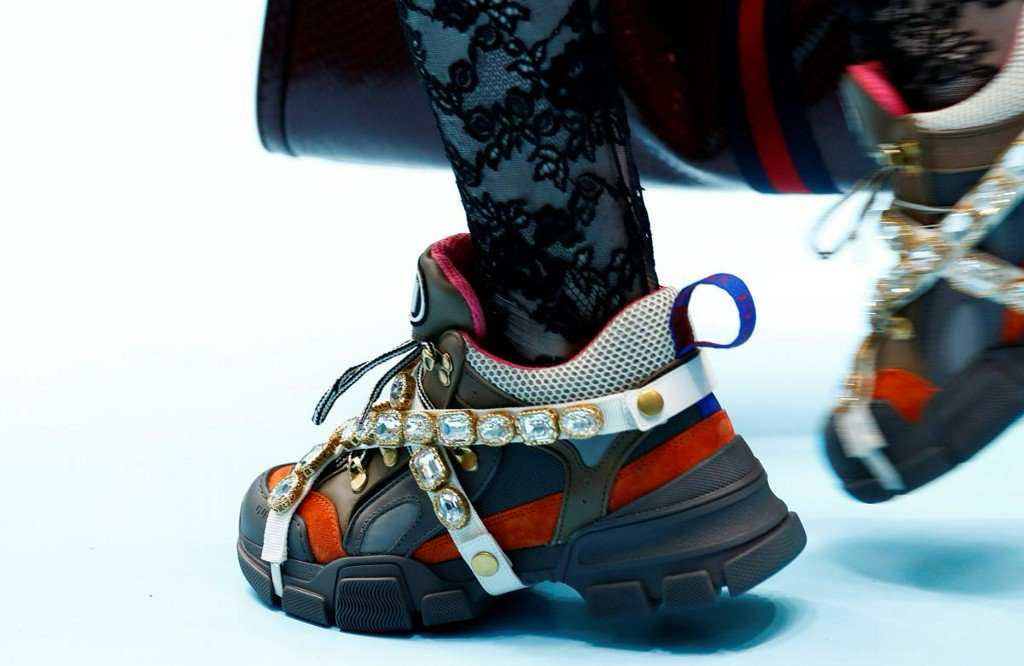 Fashion and sport brands clash in luxury sneakers race https://t.co/9MTHsNUV6E https://t.co/dOs9jPqW5u