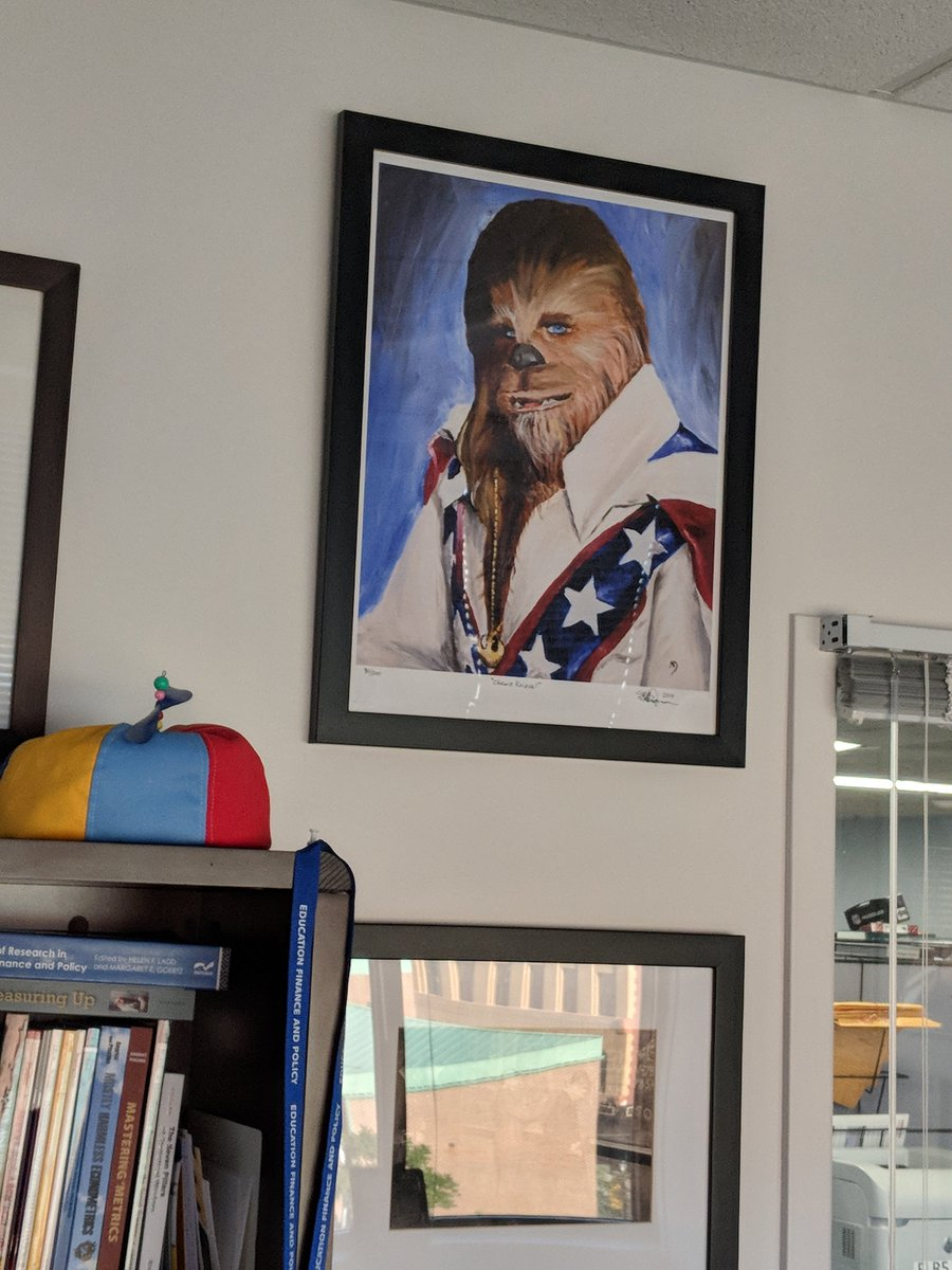 Carrie Conaway On Twitter Chewie Knievel A Birthday Gift From My Colleagues Has Taken His Rightful Place Of Honor In Office