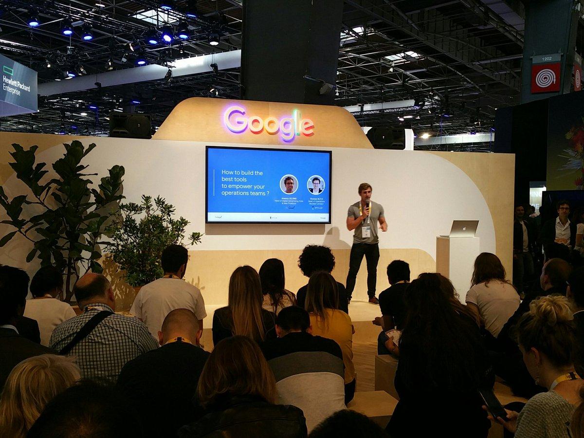 #VivaTech intervention de nos experts sur le stand @GoogleEnFrance dans quelques minutes.