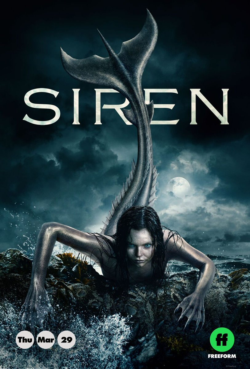 #Siren s1 ep10 Aftermath: The enchanting siren song takes hold of #BenPownall and #AldonDecker; Dale must answer for the escalating crime in #BristolCove. pic.twitter.com/6gN21qLzAb