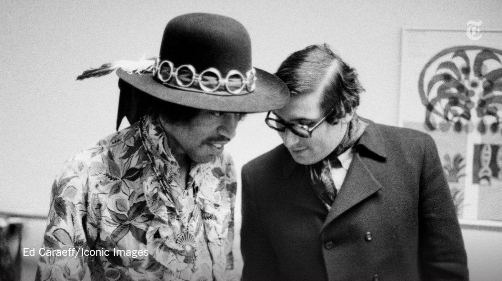 Jimi Hendrix, Lenny Kravitz and their mutual friend https://t.co/KvkQaZDHBG