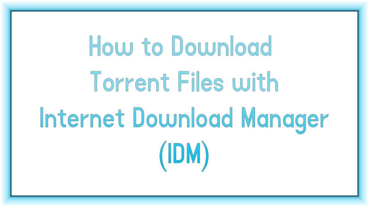 best way to download torrent files