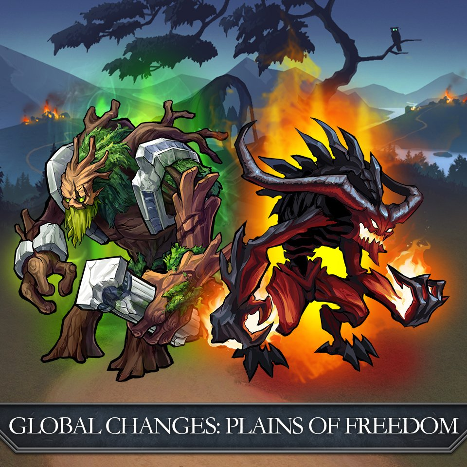 test Twitter Media - Warriors!  The levels of some units of certain gods, as well as their upgrades, will be AUTOMATICALLY recalculated for all players from the PLAINS OF FREEDOM server on June, 6. Attention: the date of this update can be changed! Read the details here: https://t.co/LXNvtWw7LU https://t.co/AK3WF8H8on