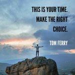 This is YOUR time! It's now or never. Don't waste a moment of it on self-doubt or fear. And if you are a little afraid, that's good. That means your goal is worth all your efforts! #tomferry #level10 #realestatecoach #realestate #mindsetmatters #businesscoach