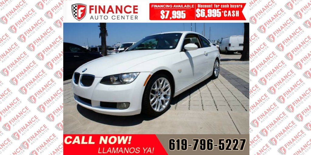 Finance Auto Center On Twitter 2007 Bmw 3 Series 328i Coupe 2d