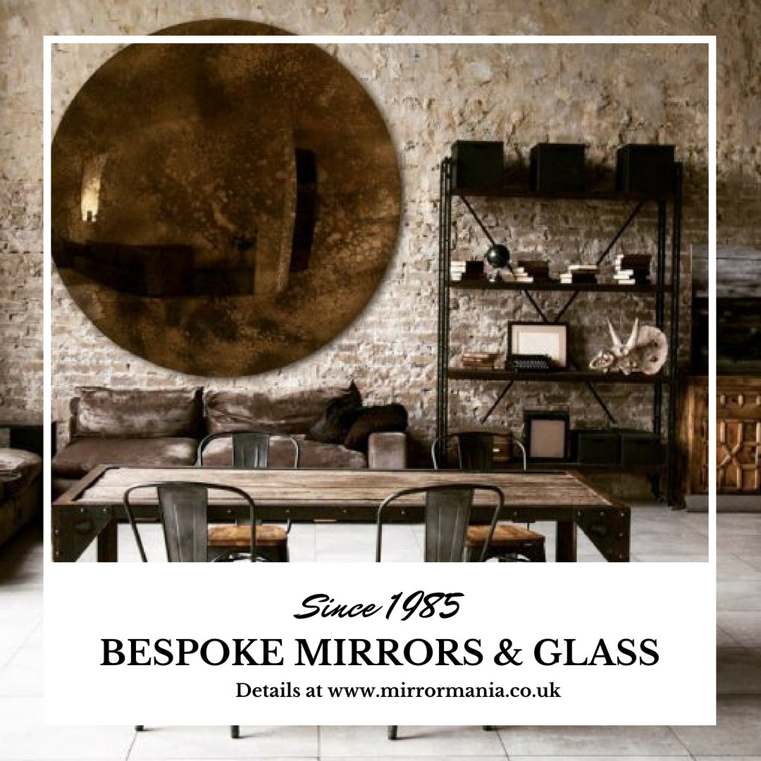 Stunning, handmade convex mirror. Perfect for your #coffeeshop #office or living room!  Choose your size and shape!!!  #UKbusinessHour #Bizhour #UKBizHour --- | #Trends2018 #Homedecor #Design #DIY #Architecture #InteriorDesign #Craft #B2B #BiziTalk  | <br>http://pic.twitter.com/9pJtU6EQI2