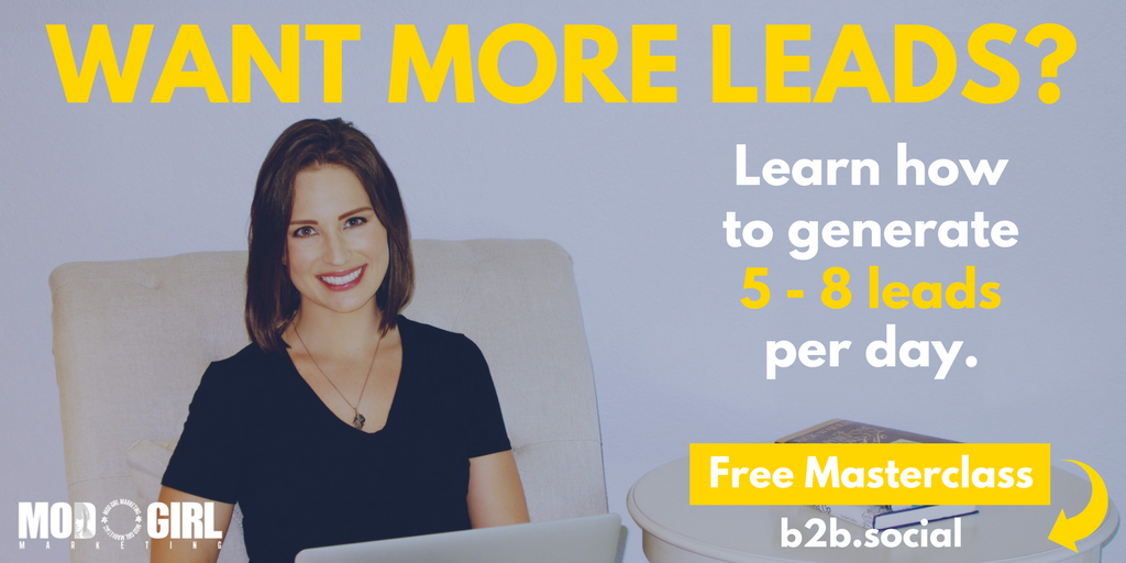 Having trouble generating quality #leads for your business? @MandyModGirl's #LeadGen Masterclass teaches you how: https://t.co/MIRrTUKfMn