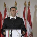 Image for the Tweet beginning: Hongrie. Tamást Sneider est élu