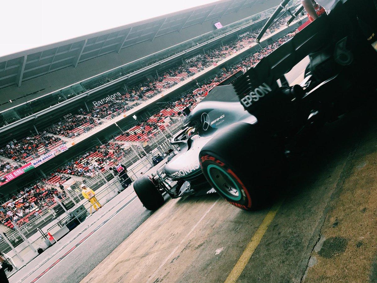 Spanish GP - Lewis Hamilton takes pole in Barcelona