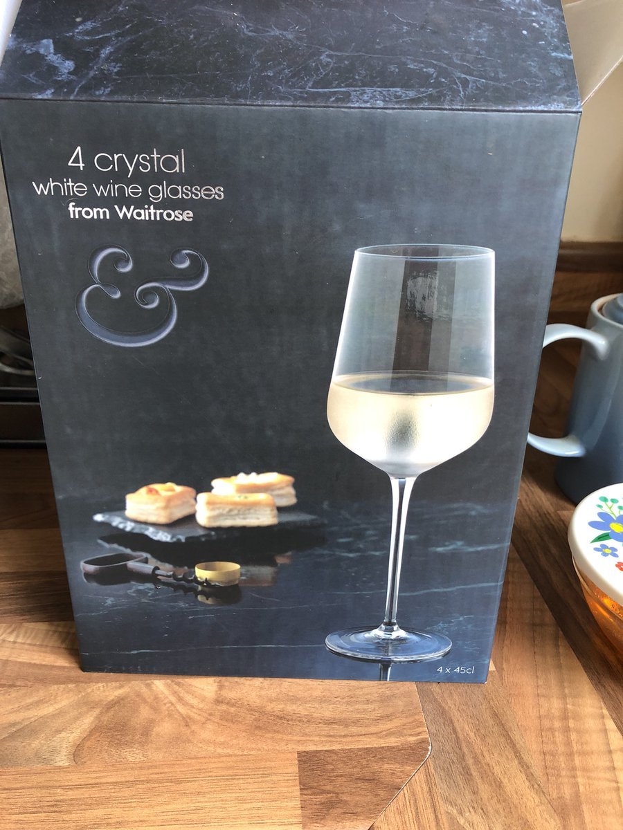 906fd10d232a Hi  waitrose we a box of these wine glasses online last week. Only just  opened them and one is broken. How do we get a refund replacement